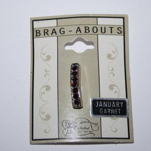 Brag abouts Silver Pendant NWT January